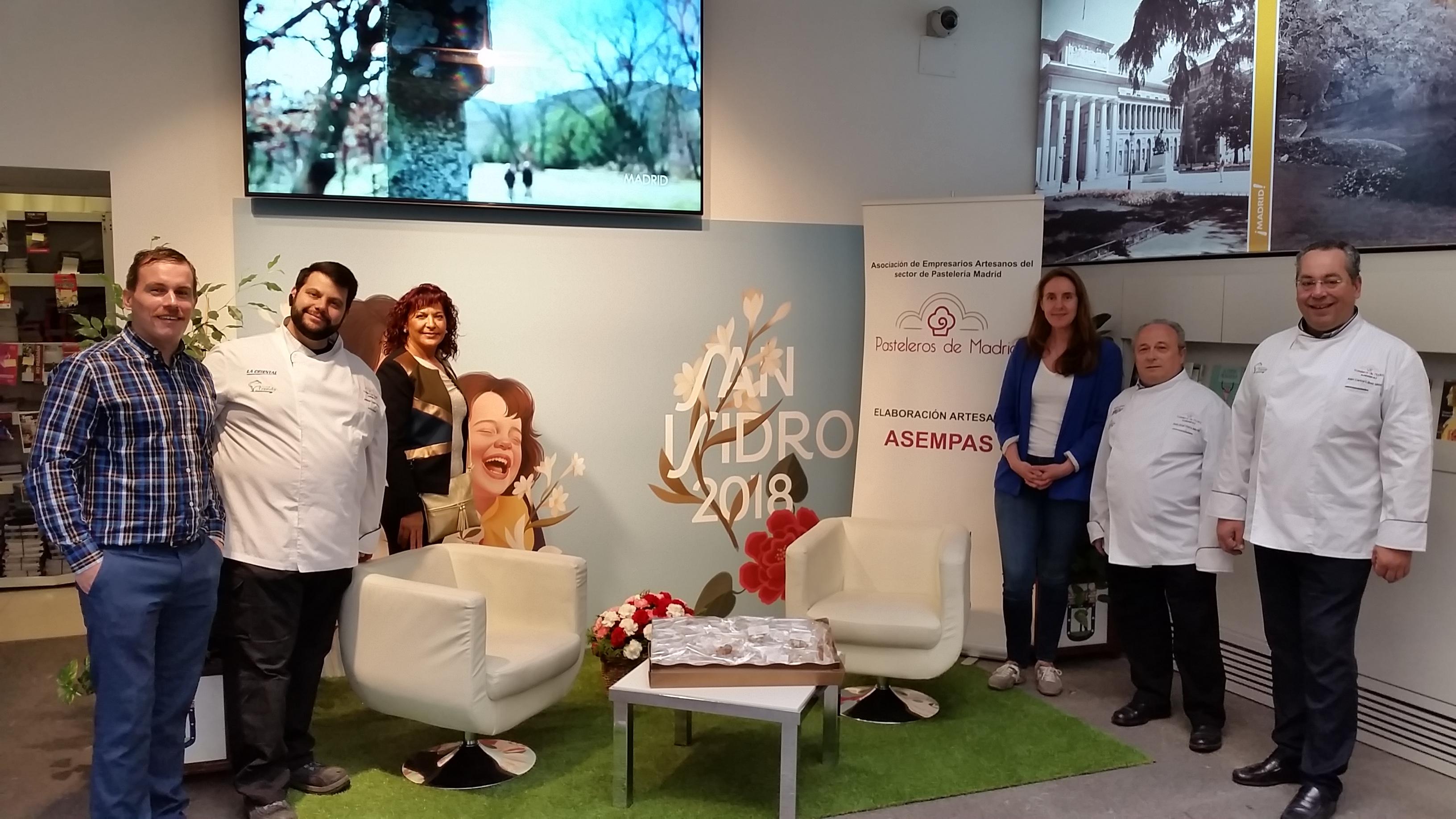 Asempas y el ayuntamiento de madrid ofrecen rosquillas del for Oficinas caja laboral madrid