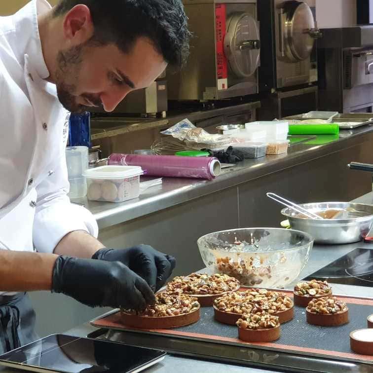 Demostración de pastelería y chocolatería de la mano de Rafa Delgado y CACAO BARRY
