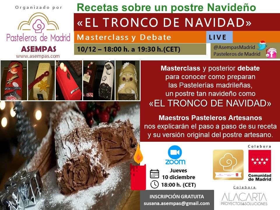 Masterclass TRONCO DE NAVIDAD 2020 (video)